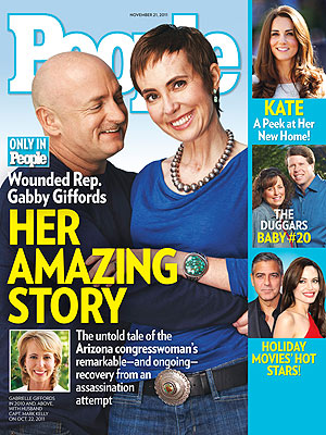 GABBY was excerpted as a People magazine cover story